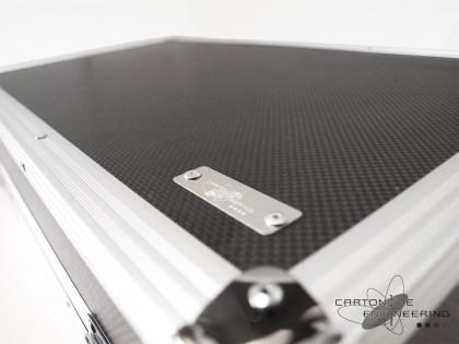 CFRPドライカーボンエフェクターケースシステムボード